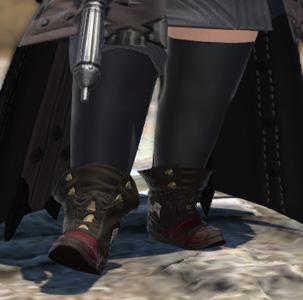 FF14 ミラプリ 赤い靴 ララフェル ハデスクラコー