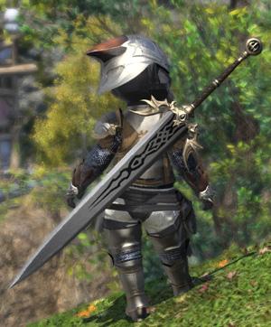 FF14 カッコイイ 両手剣 ロックハート 暗黒騎士 ミラプリ ララフェル