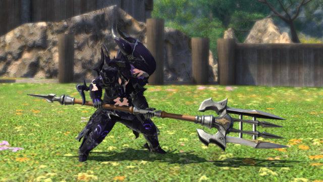 FF14 ミラプリ オベリスク 槍 竜騎士