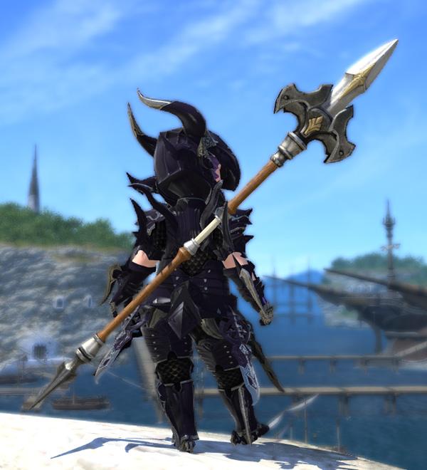 ララフェル FF14 ミラプリ オベリスク 槍 竜騎士
