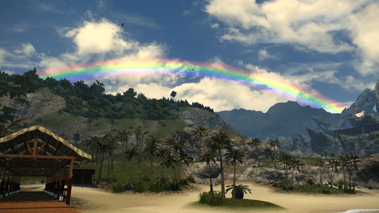 FF14 風景 虹