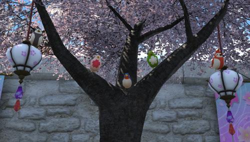 プリンセスデー 小鳥