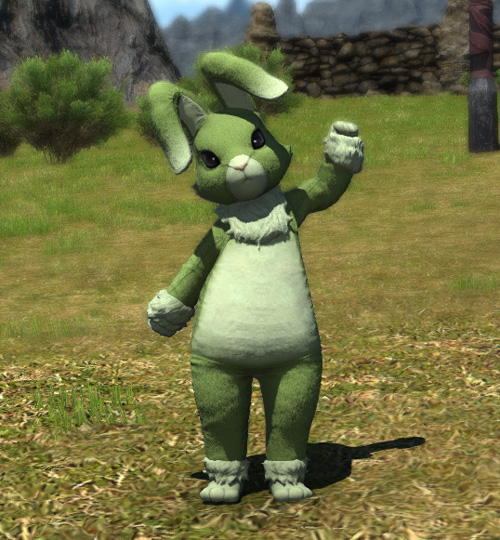 FF14 2020 エッグハント ラビットスーツ ウサギの着ぐるみ
