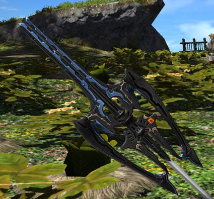 FF14 ミラプリ ガーロンド・マジテックスピア 竜騎士 槍 ララフェル