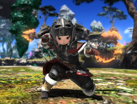 FF14 戦士 斧術士