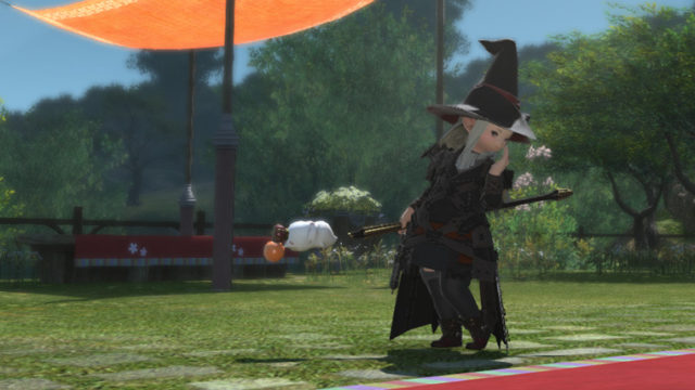 FF14 ミラプリ モグモグスタッフ かわいい ララフェル 黒魔道士