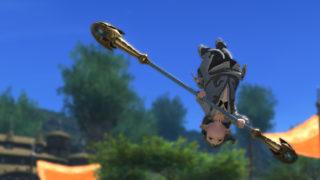 FF14 ミラプリ 伸びる槍 ミスライトパジルスティック 竜騎士 ララフェル