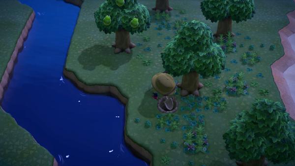 あつまれどうぶつの森 あつ森 地面の穴 埋める 閉じる