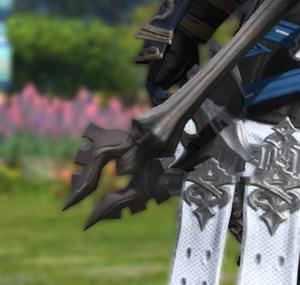 FF14 ミラプリ ララフェル イフリートバトルアクス 斧 戦士 カッコイイ