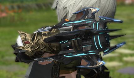FF14 ミラプリ 格闘武器 モンク ガーロンド・マジテックジャマダル カッコイイ ギミック付き