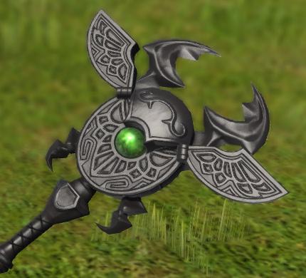 FF14 ミラプリ 黒魔道士 オブシディアンロングポール ララフェル