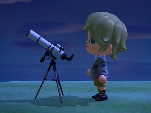 あつまれどうぶつの森 あつ森 望遠鏡 ぼうえんきょう