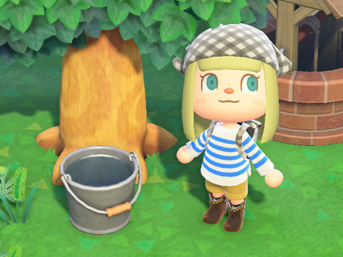 あつまれどうぶつの森 あつ森 家具 ブリキのバケツ