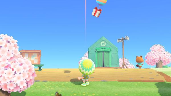 あつまれどうぶつの森 あつ森 パチンコ 風船
