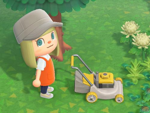 あつまれどうぶつの森 あつ森 しばかりき 芝刈り機 家具