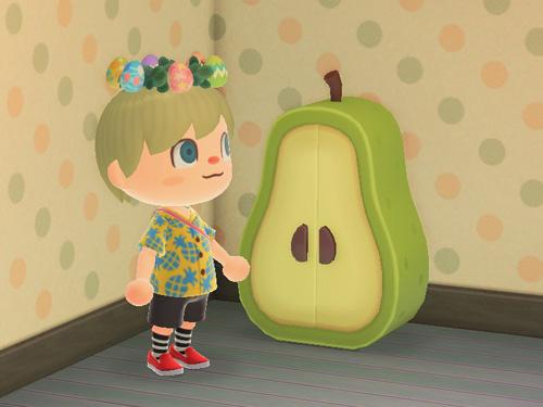 あつまれどうぶつの森 あつ森 ナシのクロゼット 梨 なし