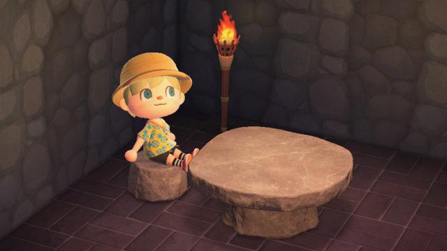 あつまれどうぶつの森 あつ森 石の家具
