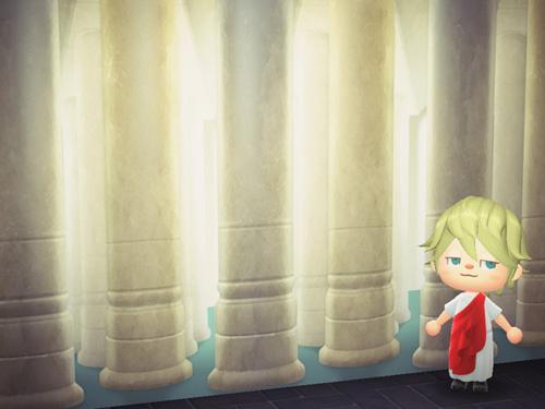 あつまれどうぶつの森 あつ森 きゅうでんのかべ 宮殿の壁 ローラン