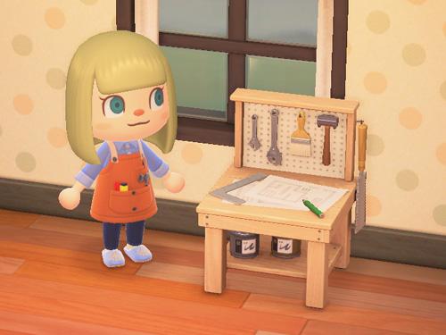 あつまれどうぶつの森 あつ森 ちいさなDIYさぎょうだい 小さなDIY作業台 家具