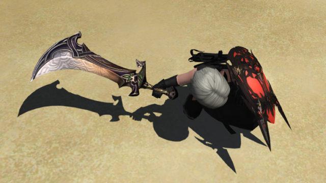 FF14 ミラプリ 古代の剣 ナイト カッコイイ