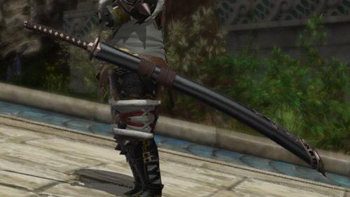 FF14 精霊銀太刀 ミラプリ 侍 刀 シンプル