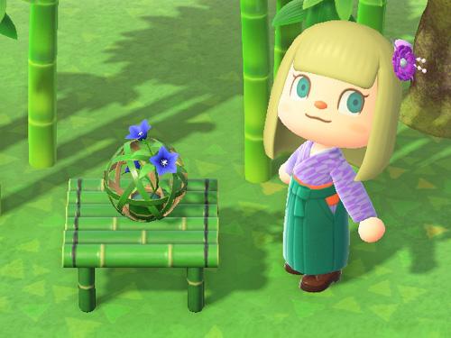 あつまれどうぶつの森 あつ森 たけのまり 竹の毬 家具