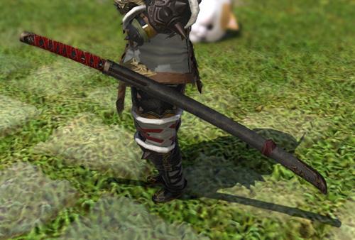FF14 ミラプリ 侍 群狼丸 かっこいい 刀