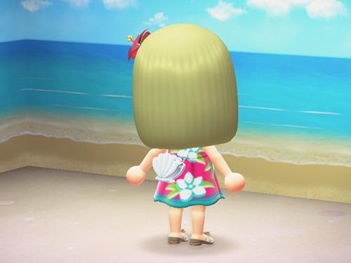 あつまれどうぶつの森 あつ森 なつのかいがら 夏の貝殻 夏のかいがら かいがらポシェット 貝殻ポシェット