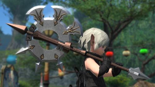 FF14 ミラプリ ララフェル 戦士 チタンアクス かっこいい 斧