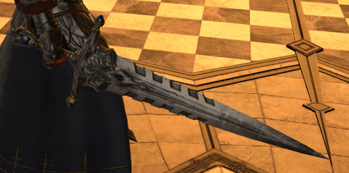 FF14 美剣のアデルフェル イシュガルド教皇庁 剣 インクイジターソード