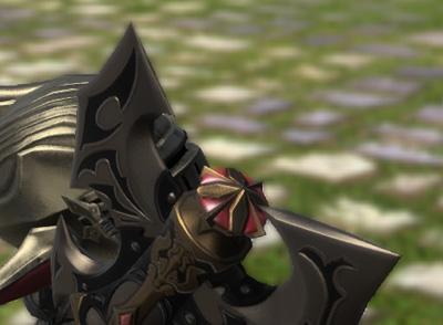 FF14 ミラプリ ララフェル スケッキョルド かっこいい 斧 戦士 ドラゴンズエアリー