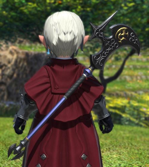 FF14 ミラプリ アダマンビル 斧 かっこいい 戦士 ララフェル