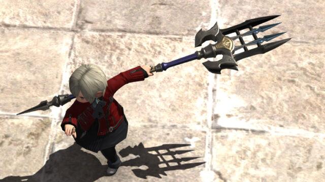 FF14 ミラプリ チタンフォーク 変形する 槍 かっこいい