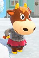 あつまれどうぶつの森 あつ森 カルピ スカートつきピーコート